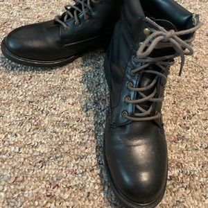 Boots Company Shoes - Boots Company Leather Combat Boots